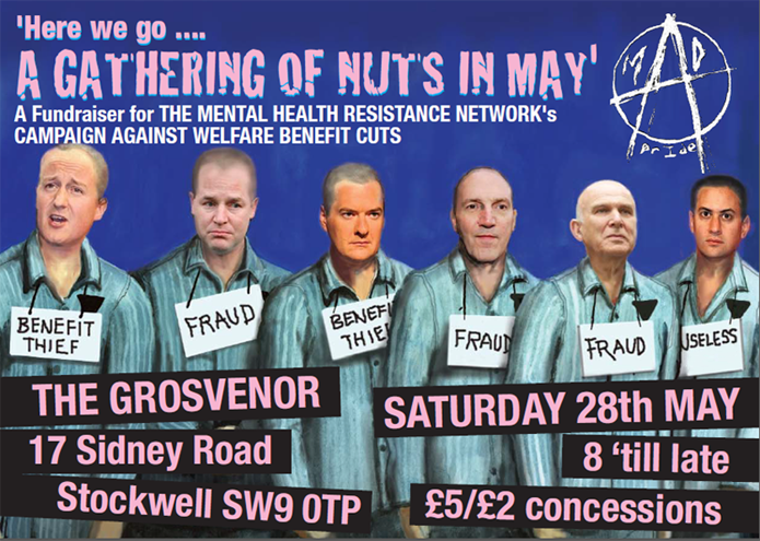 The Grosvenor - Nuts in May - May 28th Poster 01