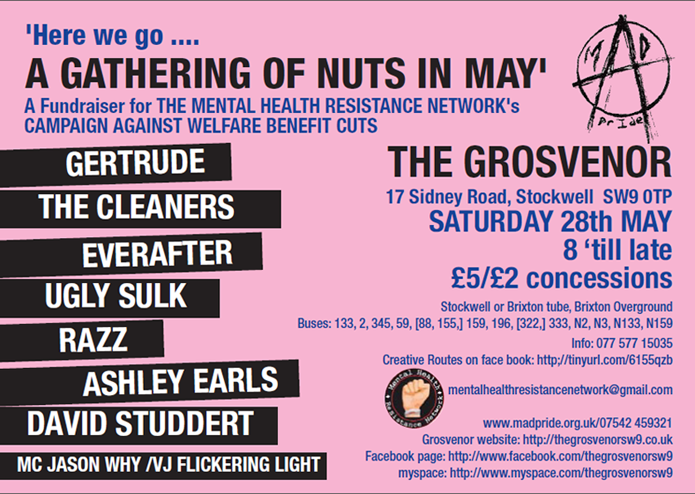 The Grosvenor - Nuts in May - May 28th Poster 02